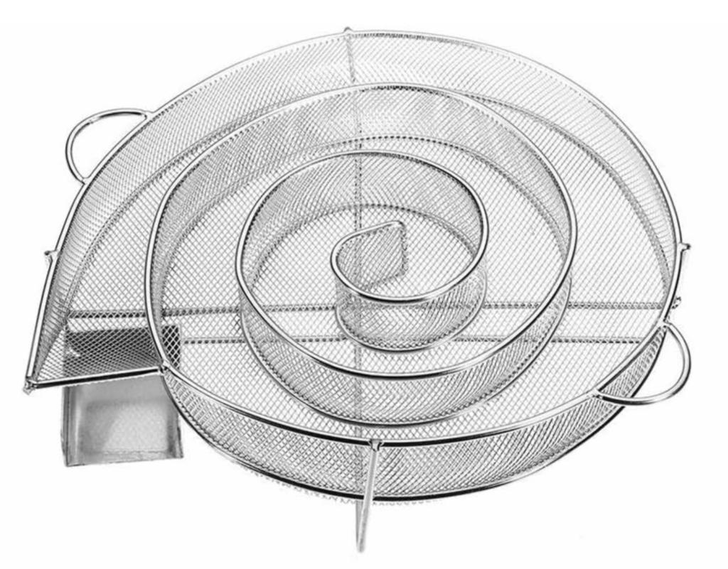 Générateur de fumée froide en escargot pour le fumage à froid